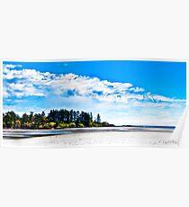 Witty's Lagoon Esquimalt BC Canada Poster