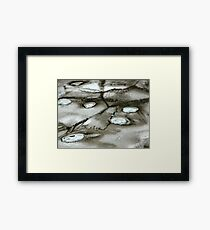 Distant reality Framed Print