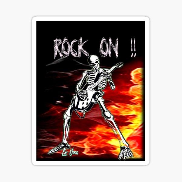 Rock on2 Sticker