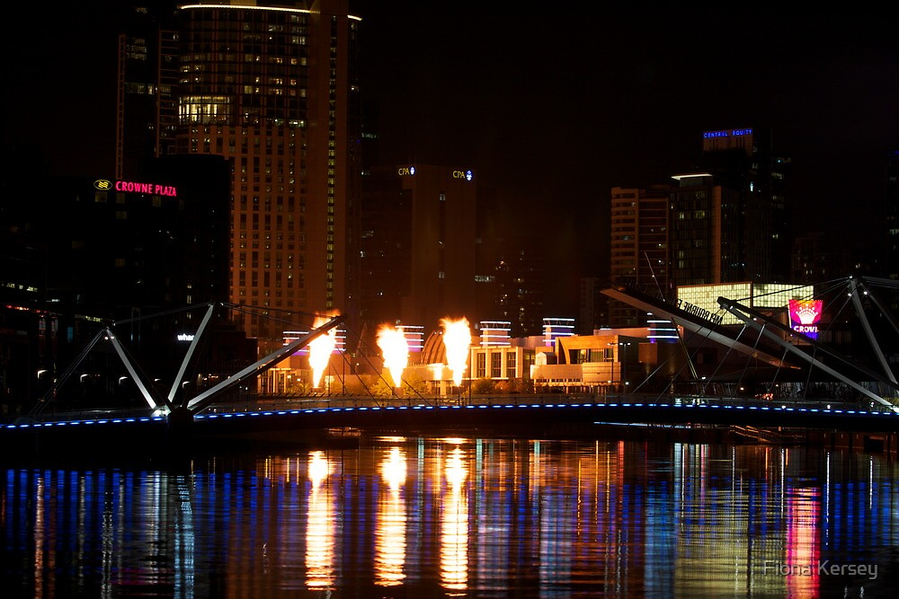 Southbank Alight by Fiona Kersey