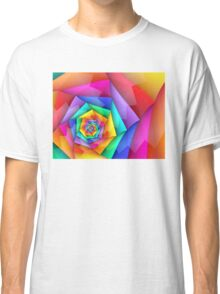 Fractured Rainbow Classic T-Shirt