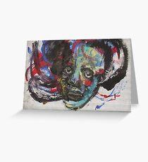 Face, Bernard Lacoque-107 Greeting Card
