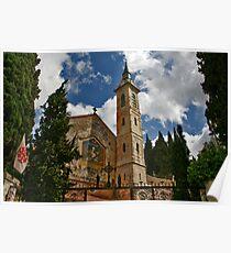 Visitation Church - Ein kerem, Jerusalem, Israel Poster