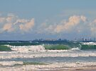 Mermaid Beach to Coolangatta, Gold Coast Qld. Australia by Virginia McGowan