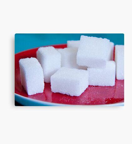 Sugar Cubes Canvas Print