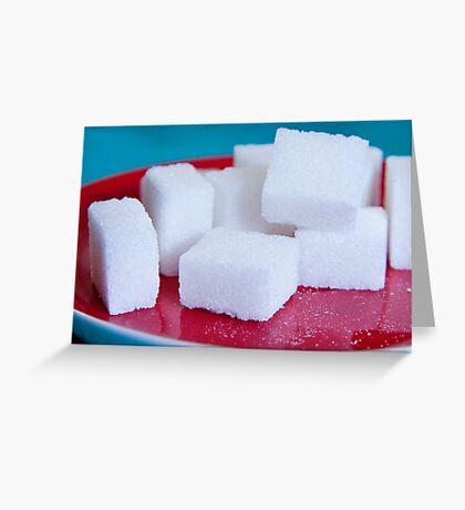 Sugar Cubes Greeting Card