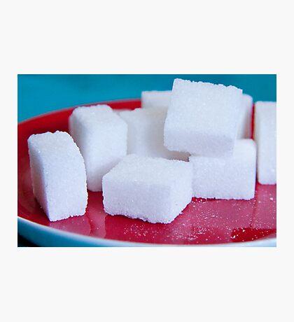 Sugar Cubes Photographic Print