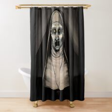 Valak Shower Curtain