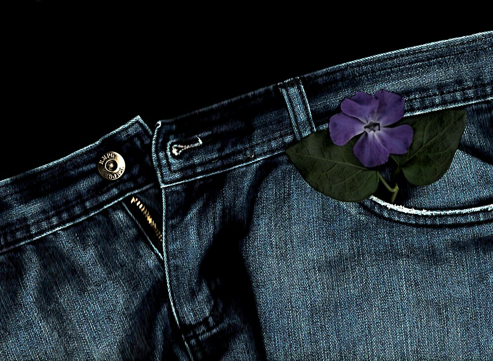 """""""Blue Jeans and Periwinkle"""" by Michelle Lee Willsmore"""