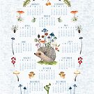 The Botanist 2020 calendar by Susan Mitchell