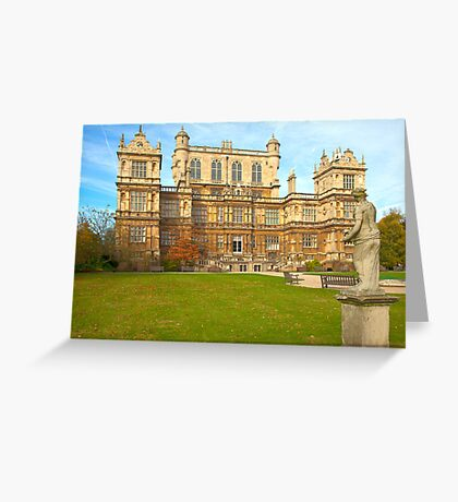 Wollaton Hall (Nottinghamshire) Greeting Card