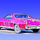 Stolen Red Pickup #6 by Bryan D. Spellman