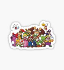 Mario Party Sticker