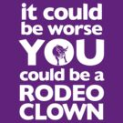 Rodeo Clown (White) by Zach Wong