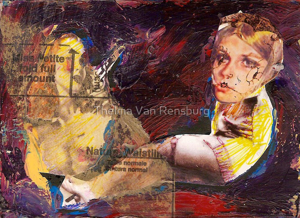 Dangerous girls, 2011 by Thelma Van Rensburg