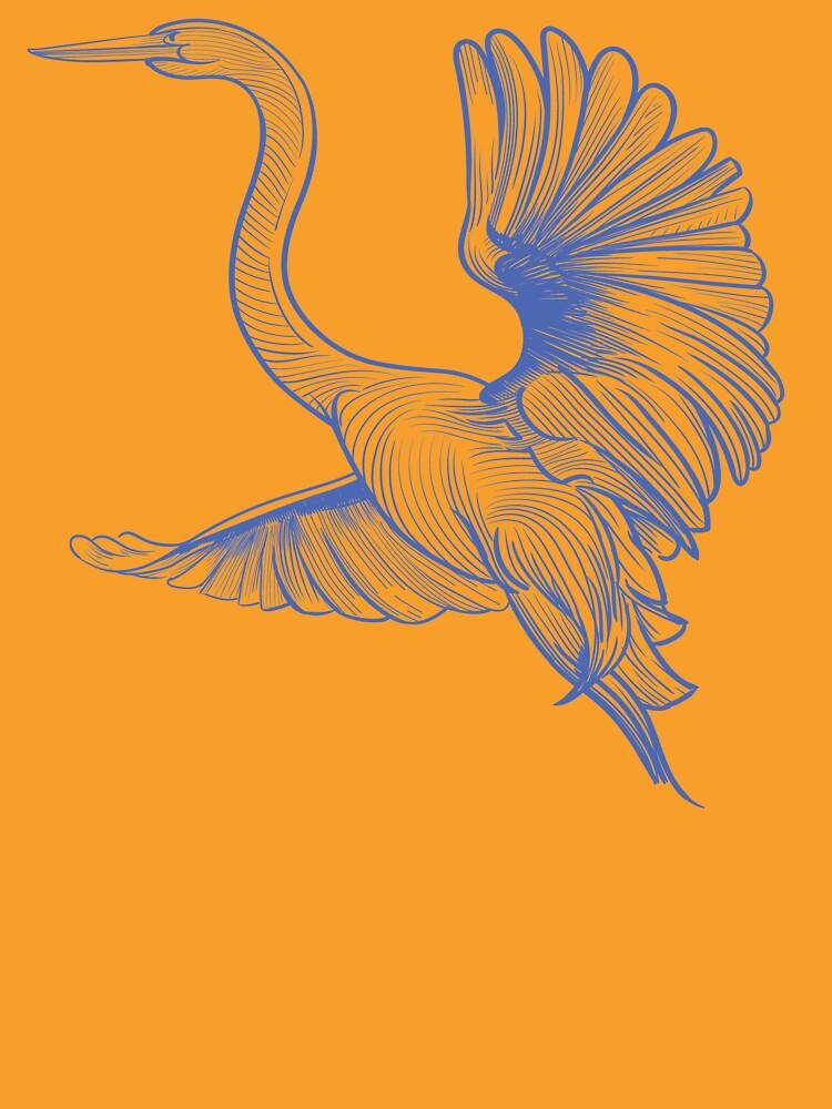 Egret flight by a-roderick