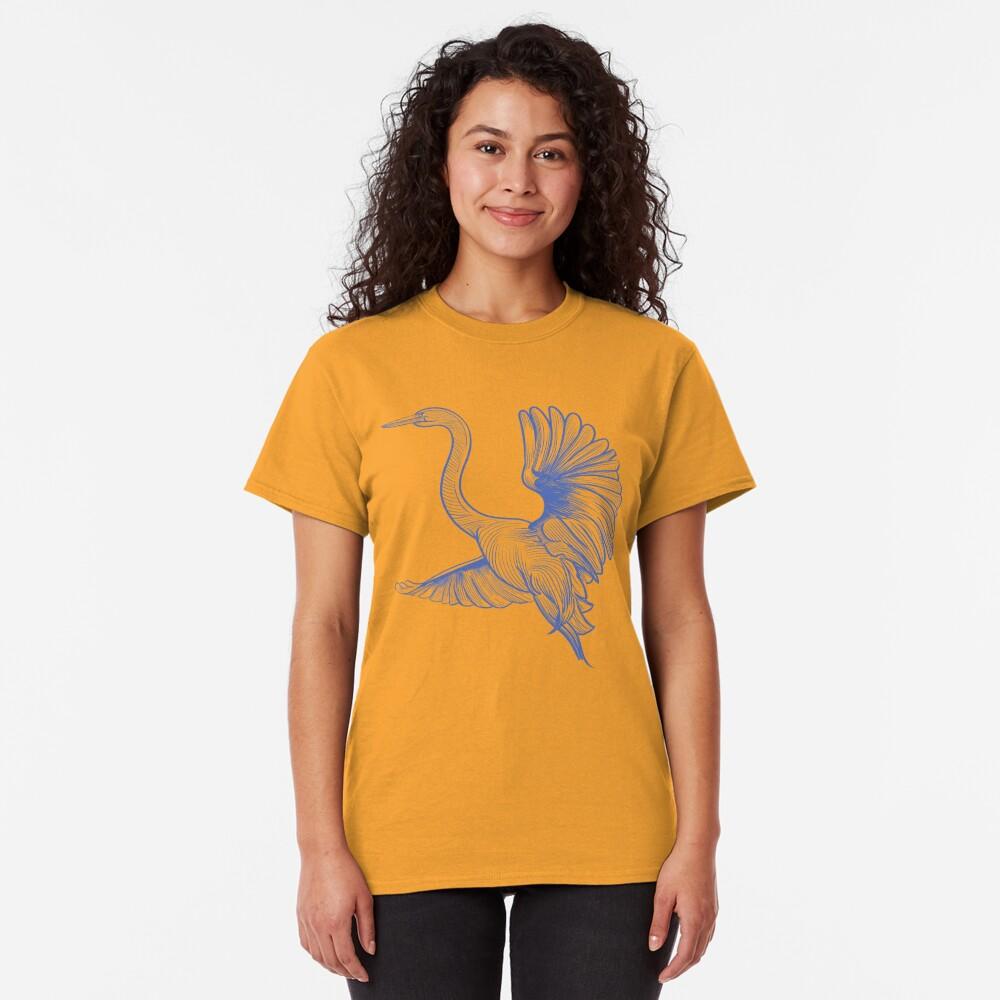 Egret flight Classic T-Shirt