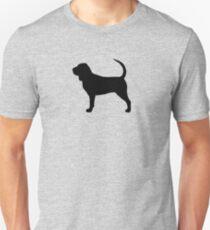 Bloodhound Silhouette(s) Unisex T-Shirt