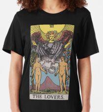 Tarot - The Lovers Slim Fit T-Shirt