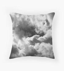 A Brooding Silence Throw Pillow