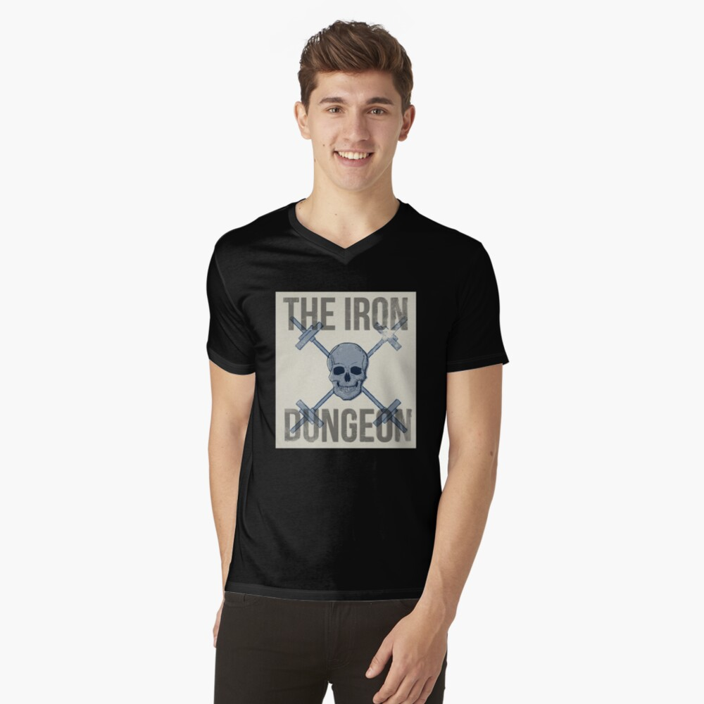 The Iron Dungeon V-Neck T-Shirt