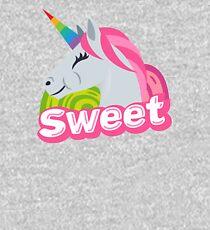 Sweet Unicorn Emoji JoyPixels Cute Sweety Kids Pullover Hoodie