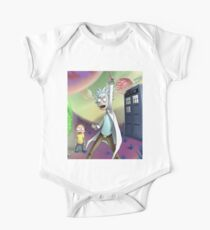 Rick and Morty Doctor Who Kids Clothes