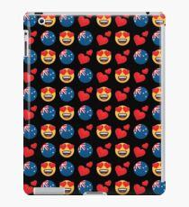 Love Australian Emoji JoyPixels Travel to Australia iPad Case/Skin