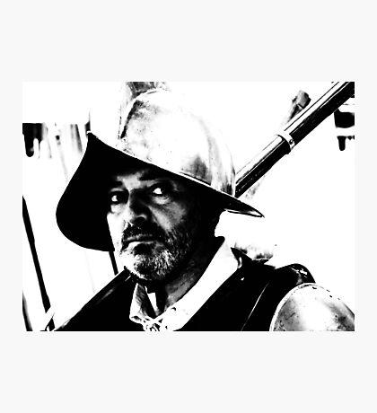 The Warrior.. Photographic Print