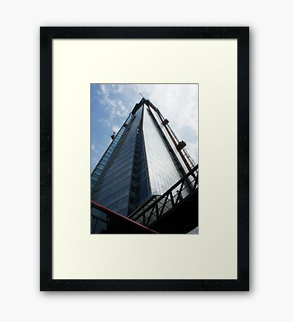 Things are looking up... Framed Print