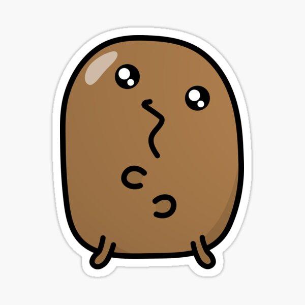 Jagaimo The Potato - Derping! Sticker
