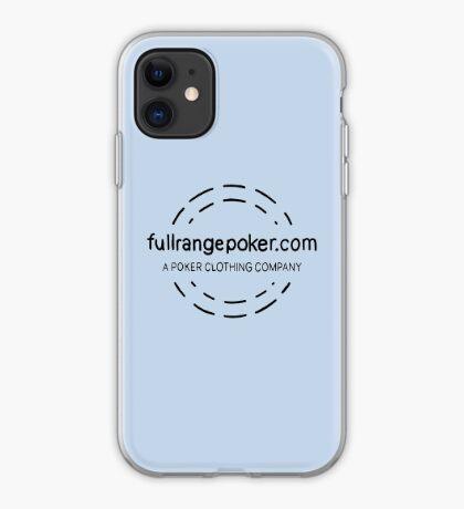 Full Range Poker logo iPhone Case