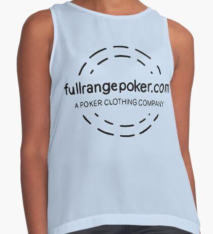 Full Range Poker logo Sleeveless Top