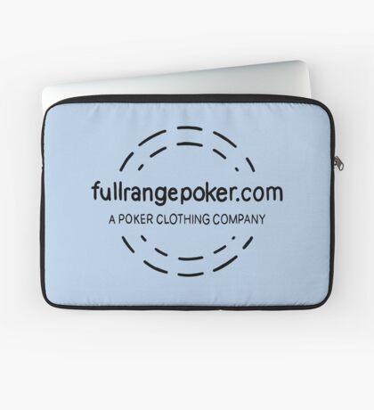 Full Range Poker logo Laptop Sleeve
