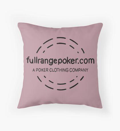 Full Range Poker logo Floor Pillow