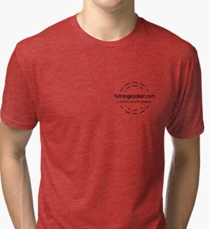 Full Range Poker logo Tri-blend T-Shirt