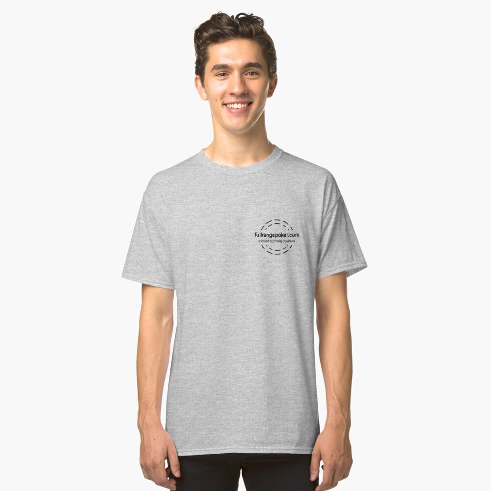 Full Range Poker logo Classic T-Shirt