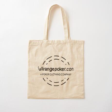 Full Range Poker logo Cotton Tote Bag