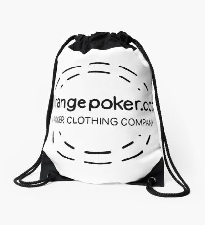 Full Range Poker logo Drawstring Bag