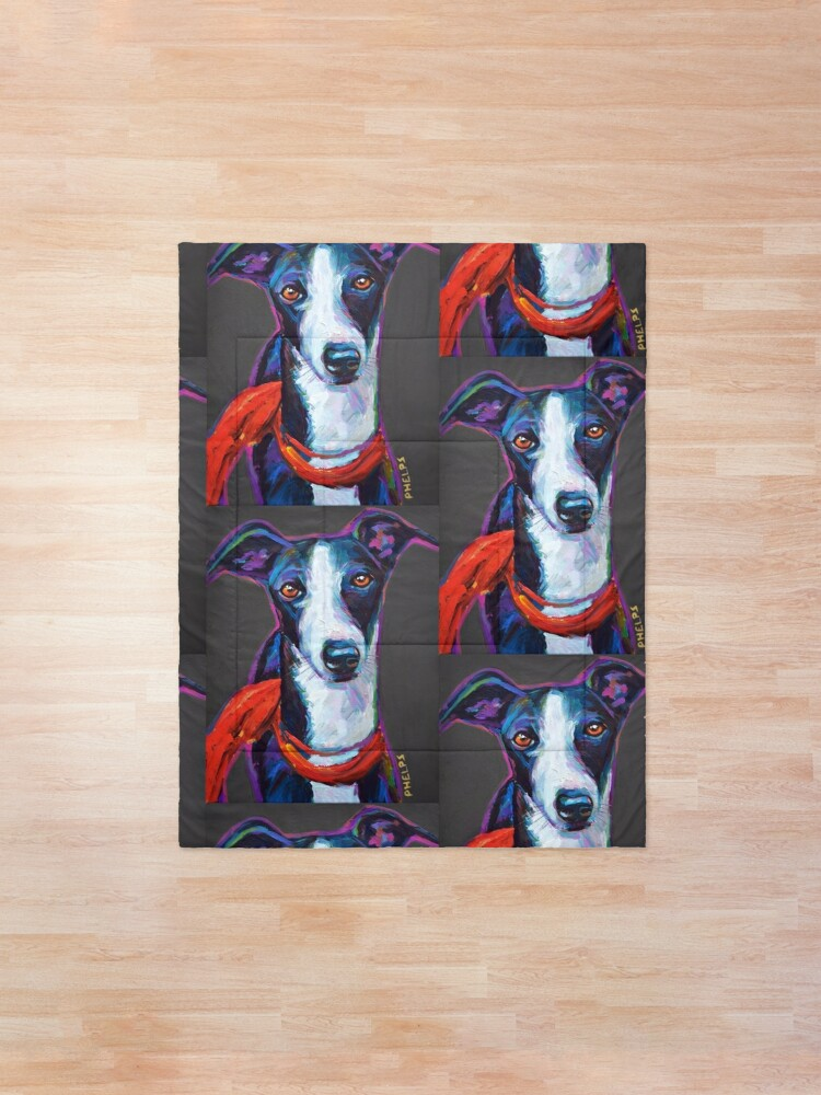Alternate view of Greyhound with Scarf Comforter
