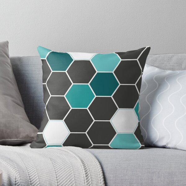 Bee Geometry  Coussin