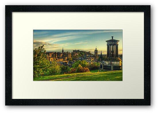 Edinburgh *Please View Larger* by Don Alexander Lumsden (Echo7)