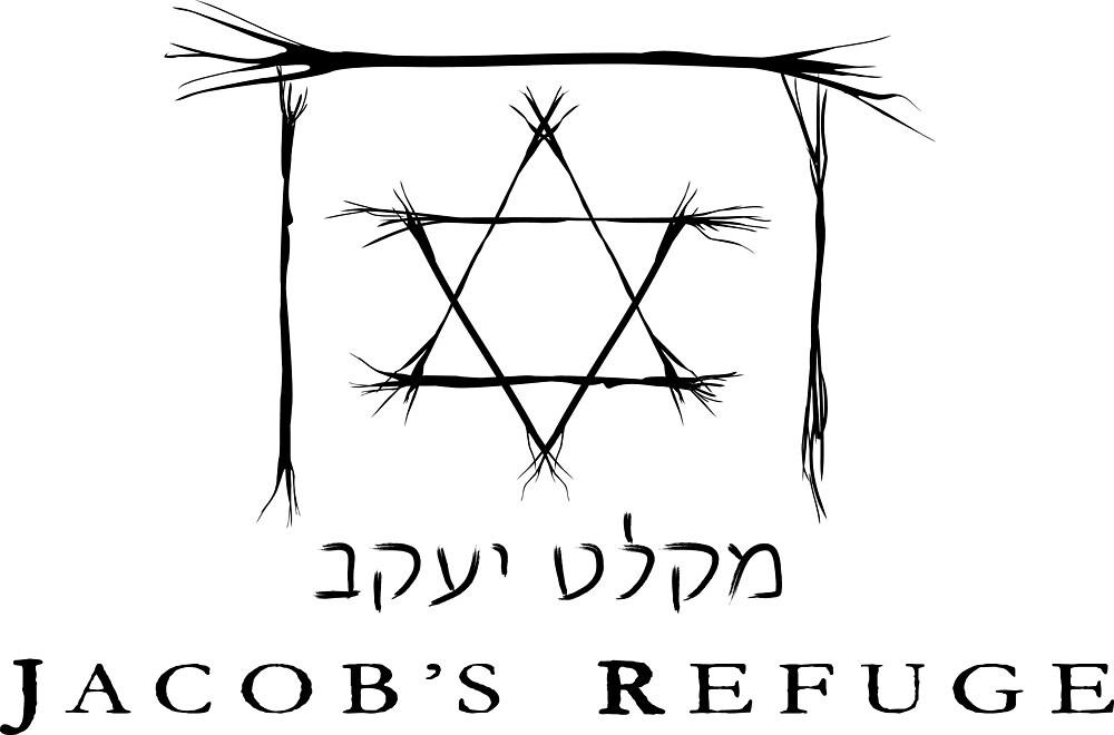 Jacob's Refuge Black Logo by JacobsRefuge