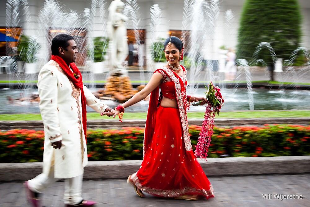 The Wedding in Sri Lanka by Mili Wijeratne