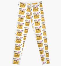 Need Coffee Unicorn Emoji JoyPixels Funny Leggings