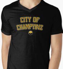 City of Champyinz Men's V-Neck T-Shirt