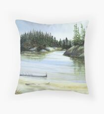 Hattie Cove - Pukaskwa National Park - Heron Bay Ontario Canada Throw Pillow