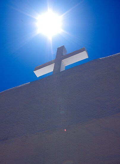 Cross at San Geronimo, Taos Pueblo by scottmarla