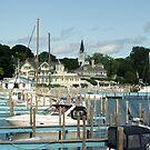 Mackinac Island Docks by Bob Hardy