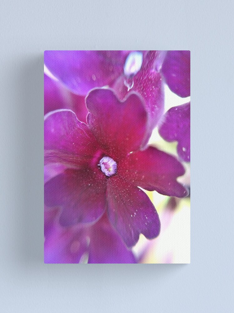 Alternate view of Purple Flower Canvas Print